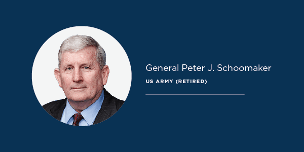 FORMER ARMY CHIEF OF STAFF GENERAL PETER SCHOOMAKER JOINS GLOBAL GUARDIAN ADVISORY BOARD