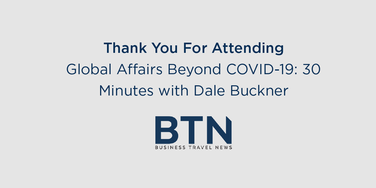 BTN's 30 Minutes With... Webinar features Dale Buckner