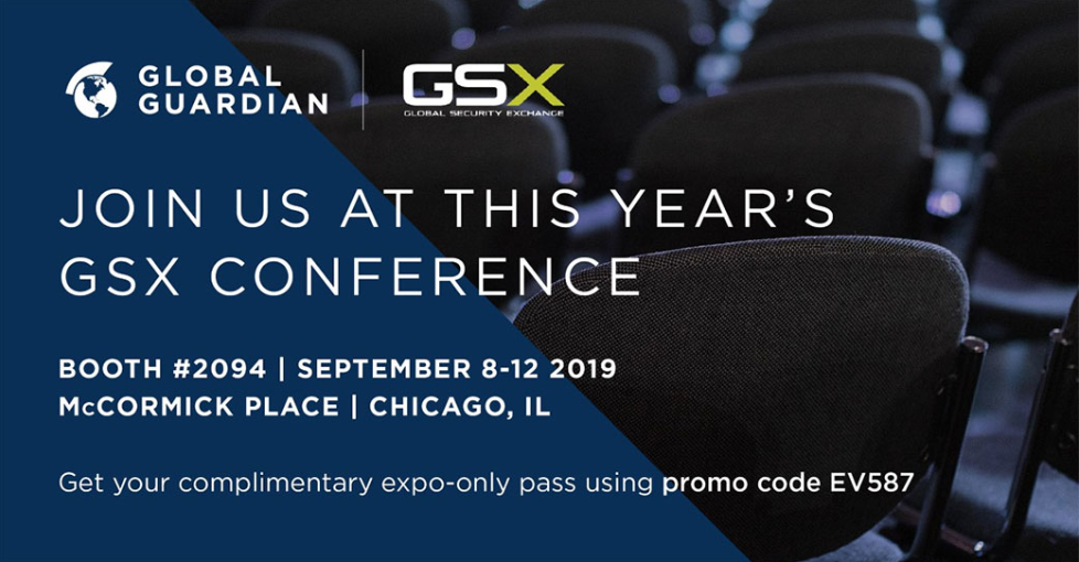 Join Global Guardian in Chicago at GSX2019