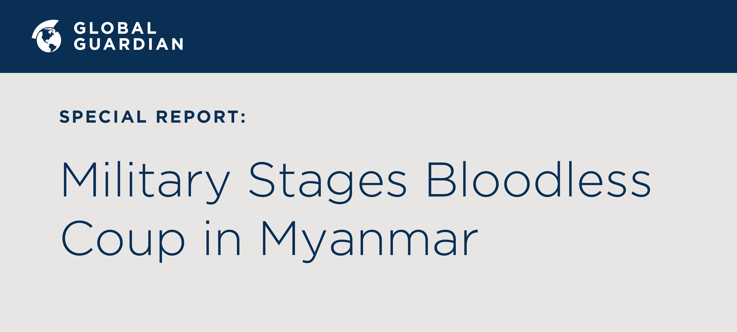 Military stages coup in Myanmar