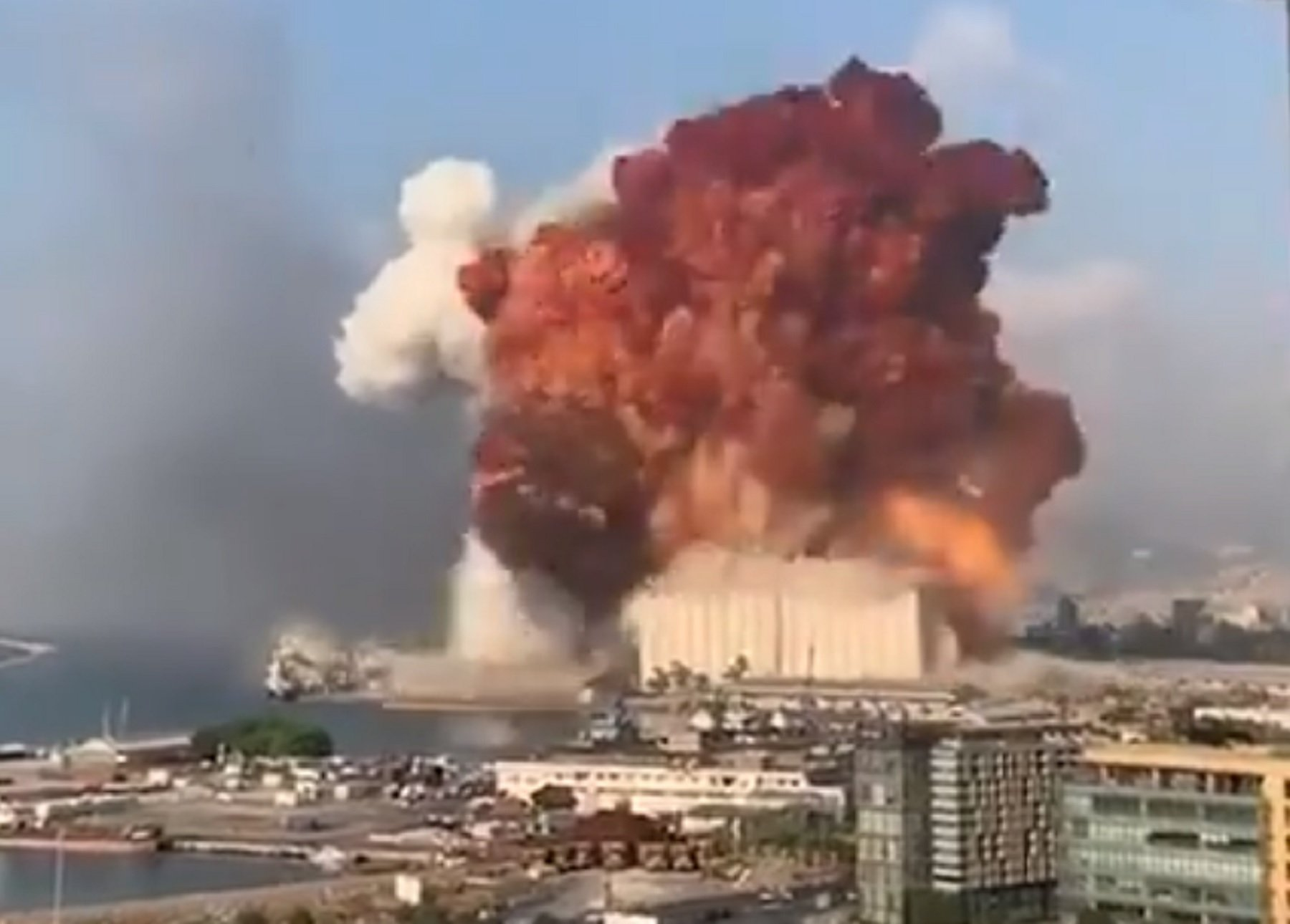Massive Explosion in Beirut Leaves Thousands Injured